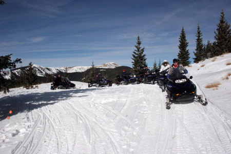 Taos Snow Mobile Tour