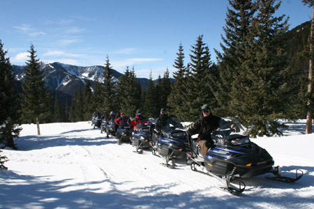 Taos Ski Valley Snowmobile Tours